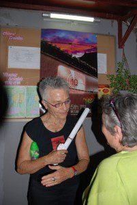 Barbara Hammer与观众交流