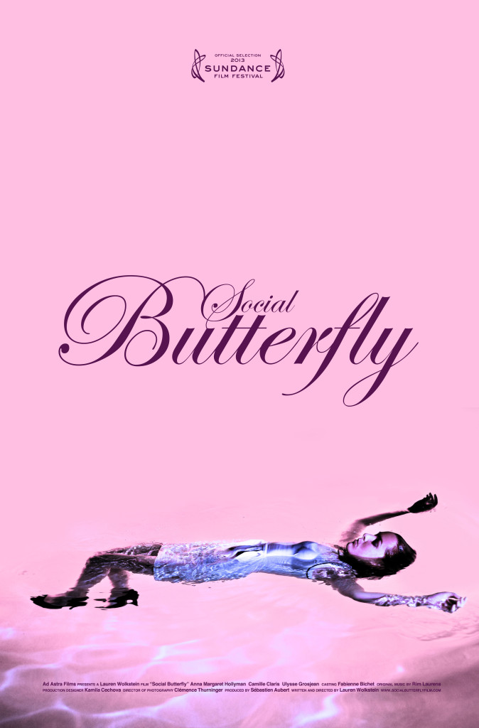 Social Butterfly Poster