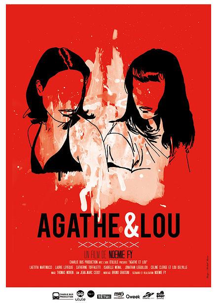Poster Agathe et Lou